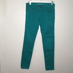 Celebrity Pink Turquoise Skinny Jeans 4/$25